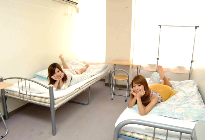 友達同士3人で来れば、皆さん同室で一緒に過ごせます♪お友達と免許を取得しましょう!